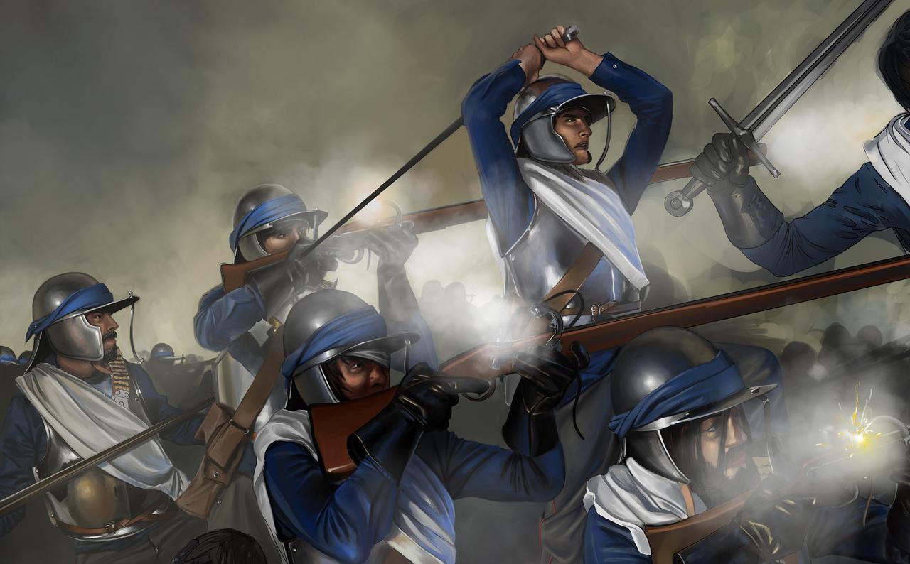 Battle Of The Valdurian Pass Wip 3 by RobbieMcSweeney