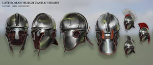 Late Roman 'Burgh Castle' Helmet