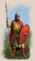 Danish Nobleman Circa 7th Century