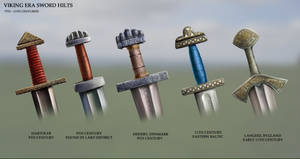 Viking Era Sword Hilts