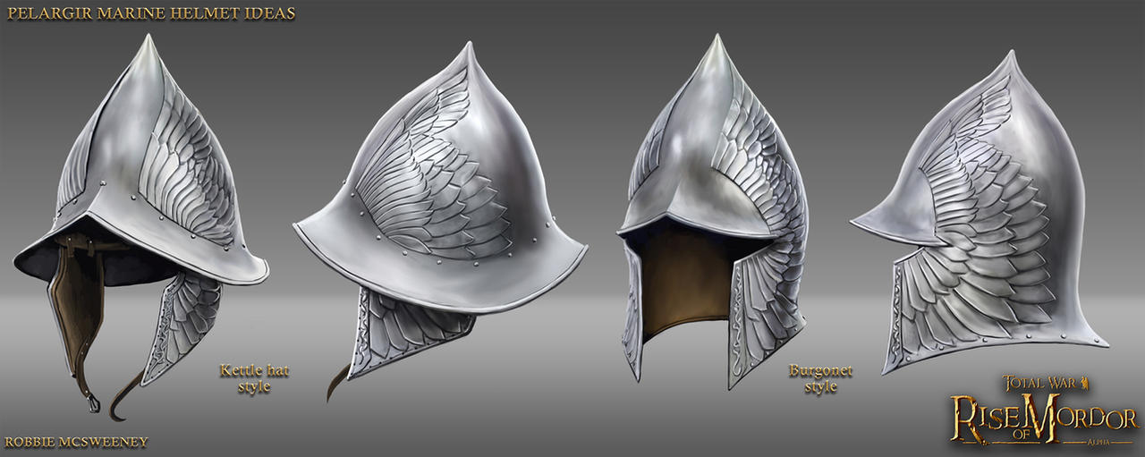 Pelargir Helmet Ideas by RobbieMcSweeney