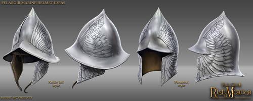 Pelargir Helmet Ideas by RobbieMcSweeney