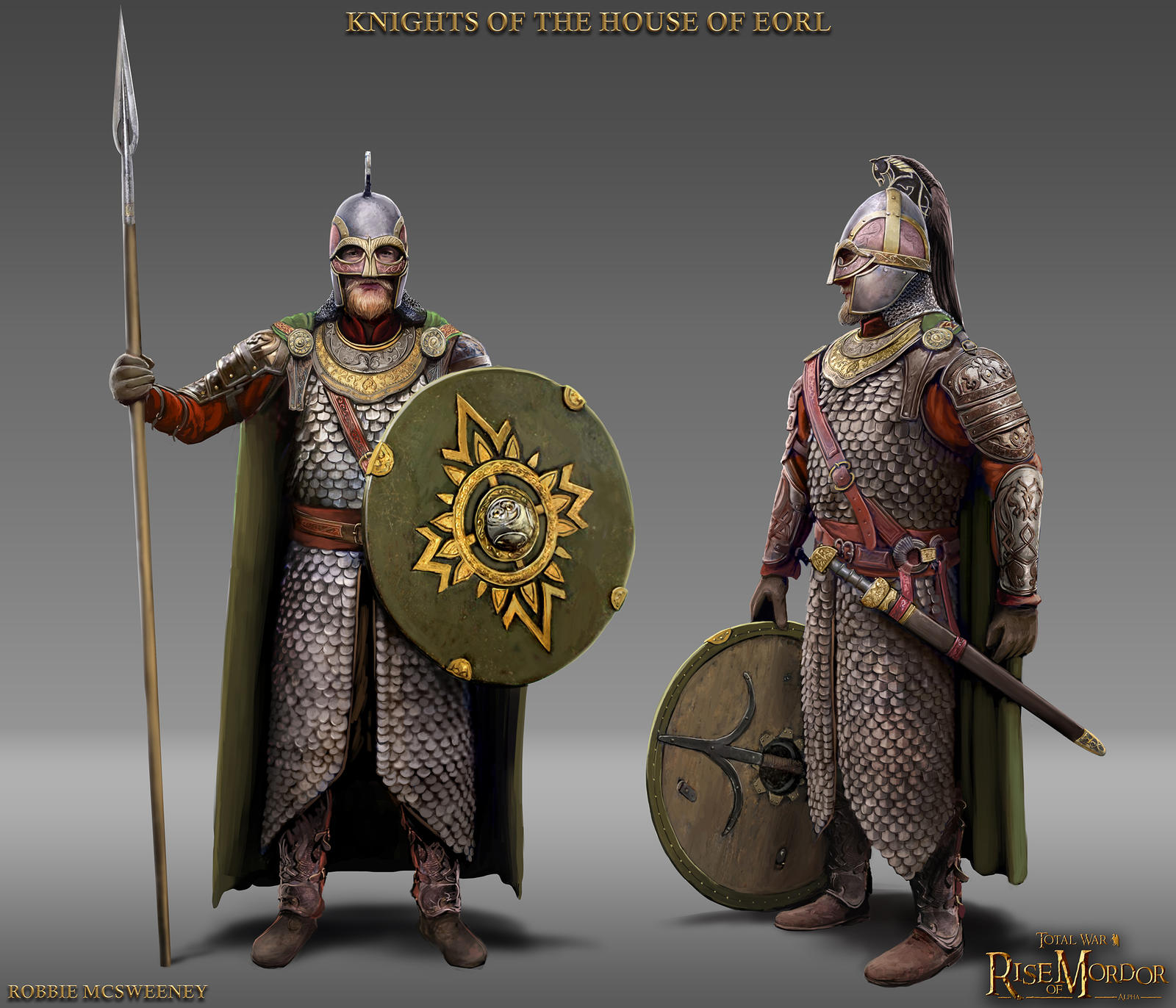 Knights of the House of Eorl by RobbieMcSweeney
