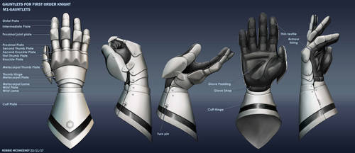 Gauntlets for first order knight