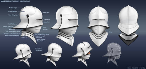 First Order Knight Sallet