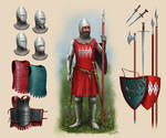 Waddesdon Knight (Sir Roger (?) Dynham) Circa 1350
