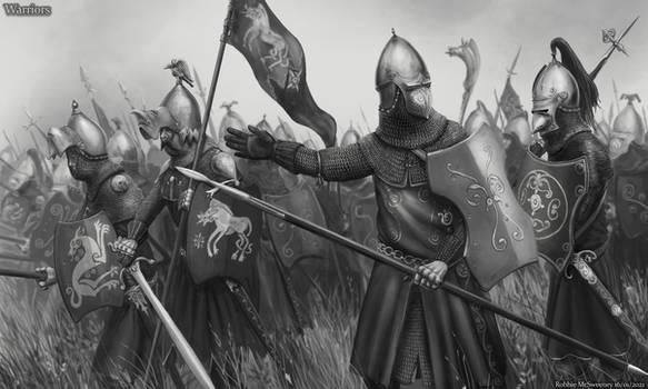 Verdonian Warriors - Tyrannoc Series
