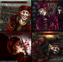 Emotional Support from the Fool of Hearts by Foolish-Hearts
