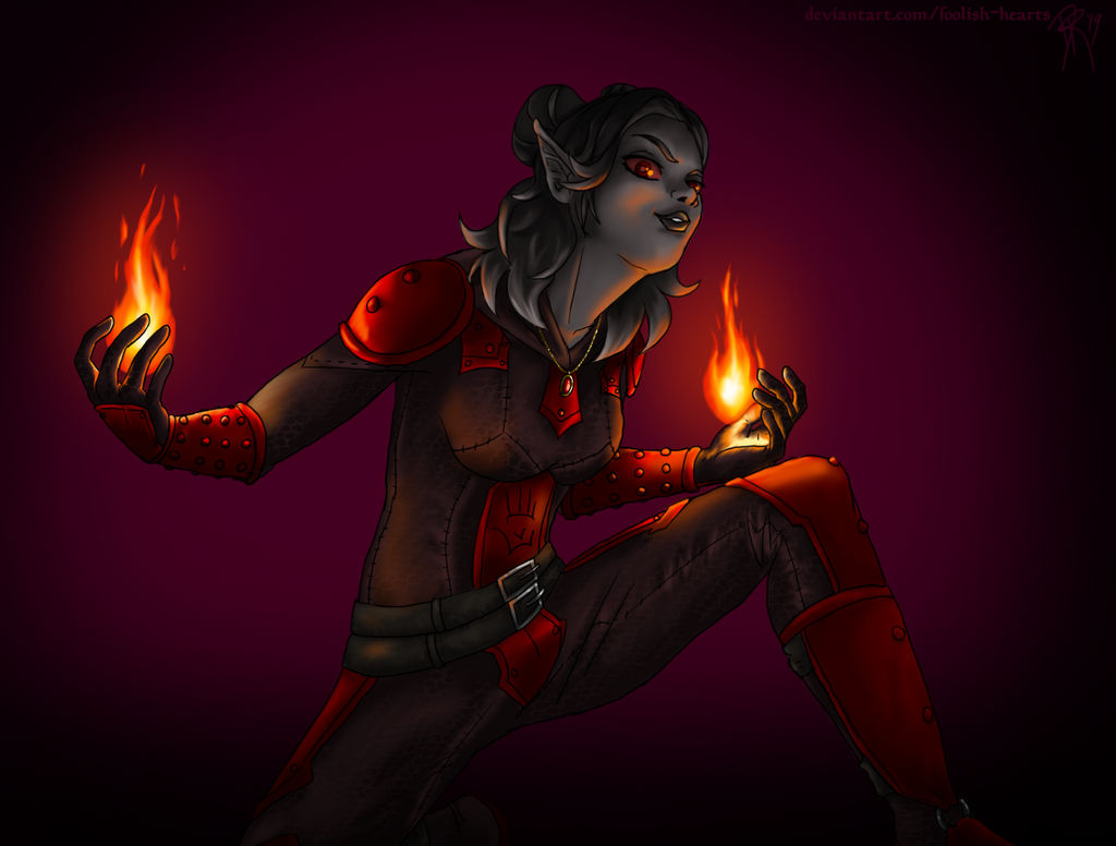 Dark Sister Katalynn (Contest Prize)