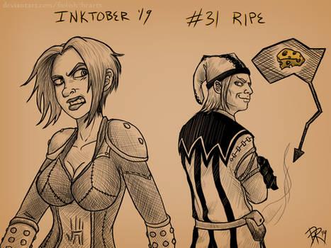 31 Ripe - INKTOBER '19