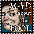 Mad About the Fool stamp
