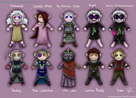 Clover's Dolls