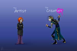 Artist vs Creation meme