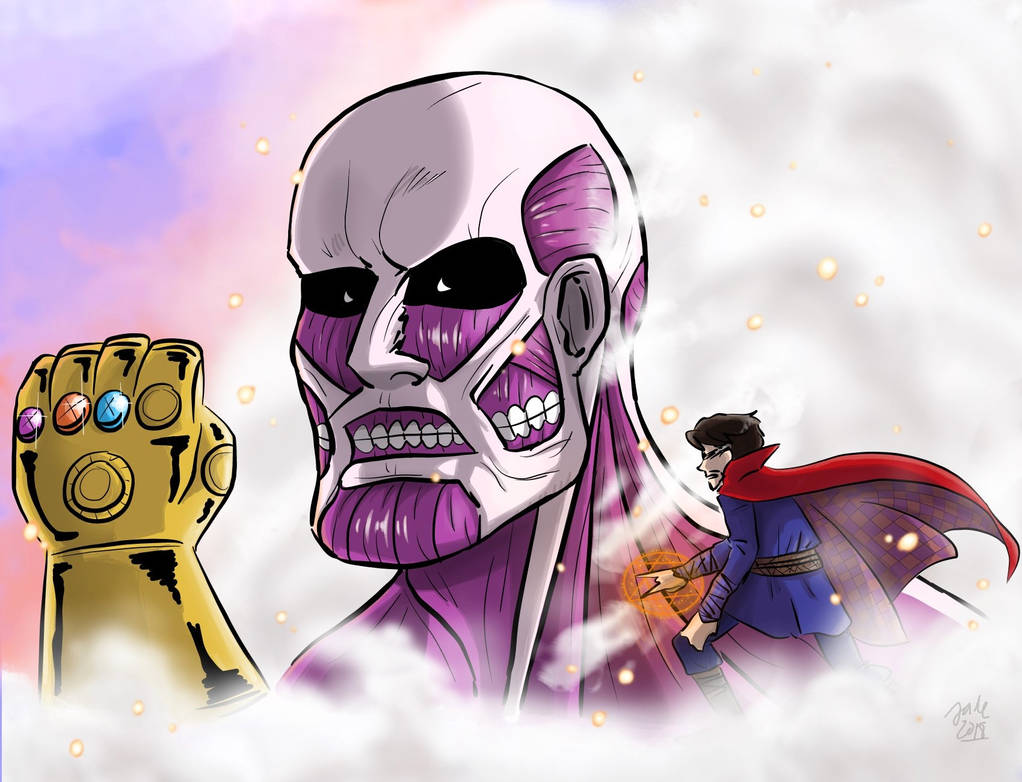 The Great Titan [SNK x Marvel Crossover]