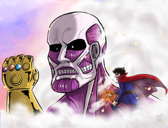 The Great Titan [SNK x Marvel Crossover] by Grandkhan