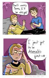 Star Trek - Strange New dumb comics #8 : Drama by Grandkhan