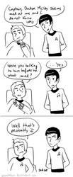 Star Trek - Strange New dumb comics #9 by Grandkhan