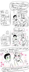 Star Trek - Strange New dumb comics #10 : Gay by Grandkhan