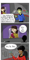 Star Trek - Strange New dumb comics #11 : Crush