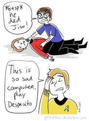 Star Trek - Strange New dumb comics #12 : He ded by Grandkhan