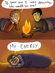 Star Trek - Strange New dumb comics #13 : Camping by Grandkhan