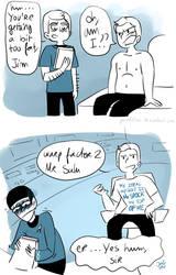 Star Trek - Strange New dumb comics #14 : Weight by Grandkhan