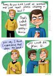 Star Trek - Strange New dumb comics #16 : Romantic