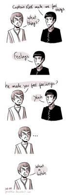 Star Trek - Strange New dumb comics #17 : Feels