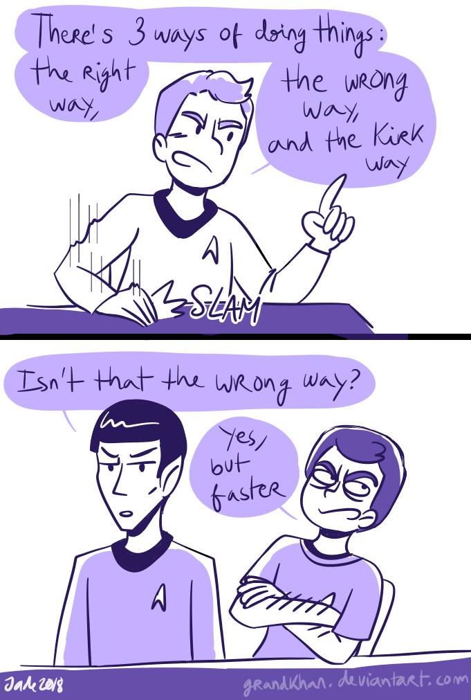 Star Trek - Strange New dumb comics #18 by Grandkhan