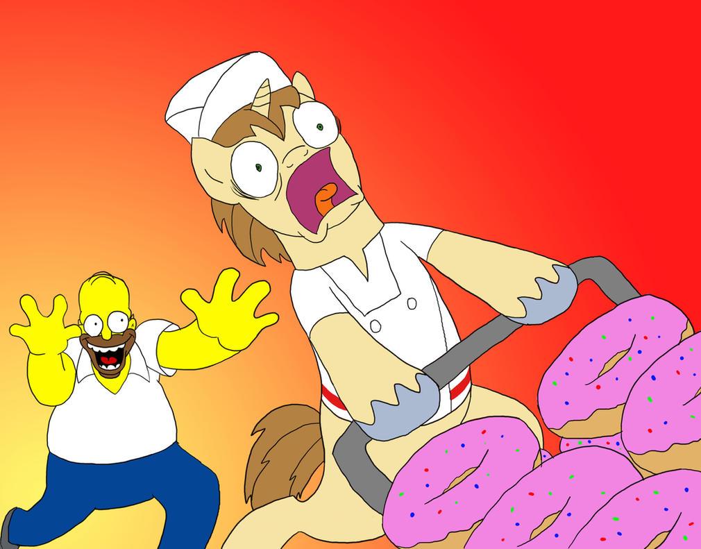 Doughnut Joe's Nightmare by doubleWbrothers