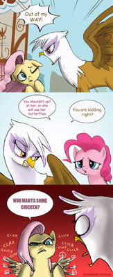 Griffons beware by doubleWbrothers