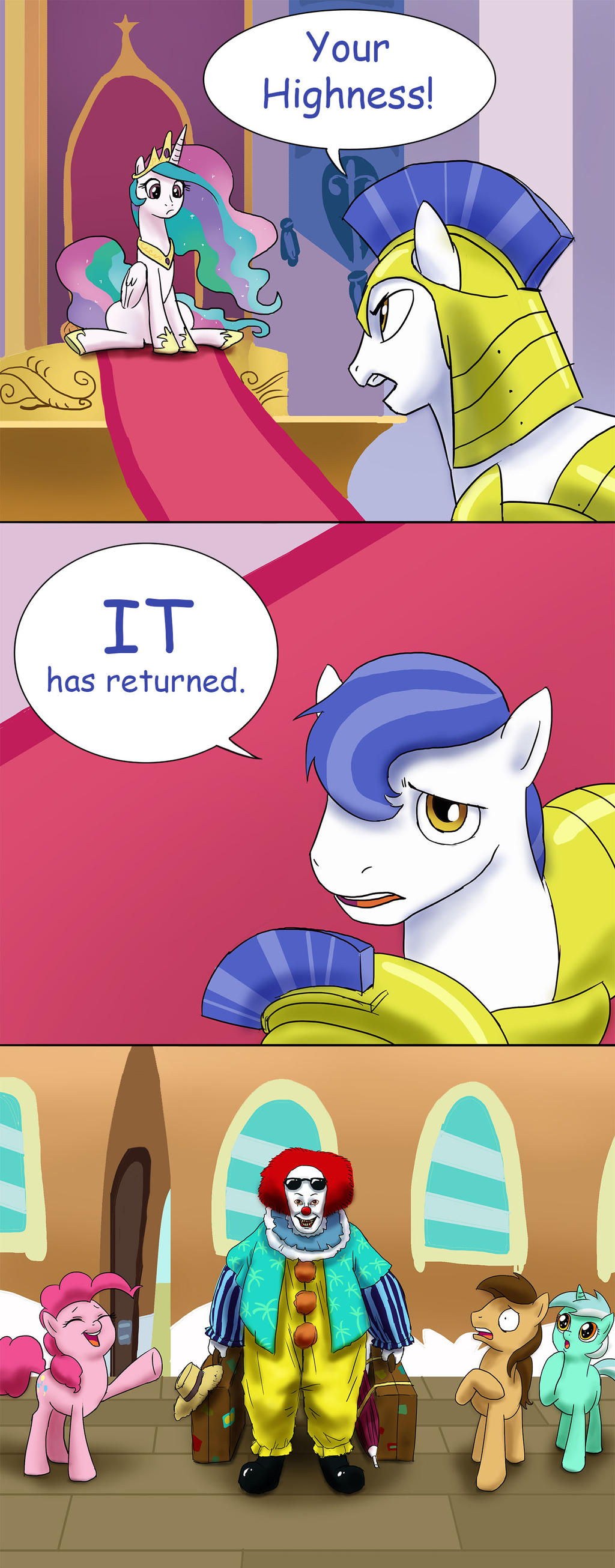 IT has returned by doubleWbrothers