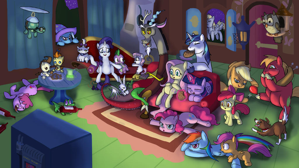 movie night wallpaper by doublewbrothers on deviantart