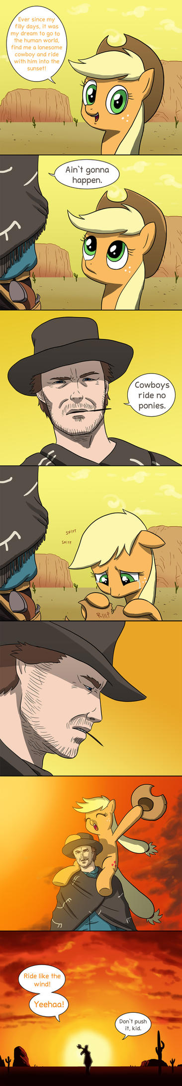 Applejack's dream by doubleWbrothers