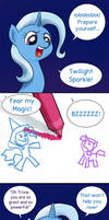 Trixie's big chance by doubleWbrothers