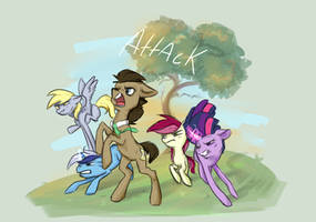 Pony Attack Super Squad- P.A.S.S -mlp by EleveNax