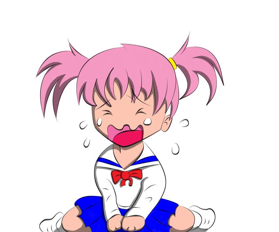 Chibi Girl crying by mystikzero on DeviantArt