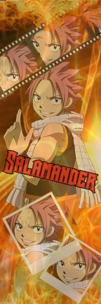 Natsu Salamander Dragneel by kimuel2414