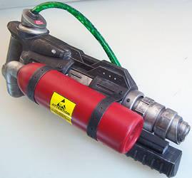 Slime Launcher Custom Ghostbuster Prop by firebladecomics