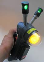 Custom Ghostbusters Mini Giga Meter by firebladecomics