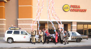 Suncoast Ghostbusters group FX Shot