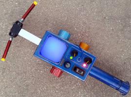 Custom Real Ghostbusters PKE Meter prop by firebladecomics
