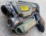 Custom Halo Inspired Nerf Firestrike pistol prop