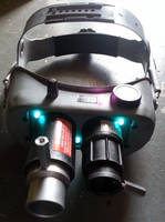Custom Ghostbusters Ecto Goggles prop version 24 by firebladecomics