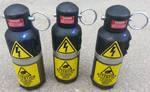 Custom Ghostbusters Ecto Prop Grenades by firebladecomics