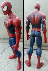 Custom Marvel Titan Hero Series Spider-man by firebladecomics