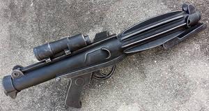 Star Wars Stormtrooper Blaster Rifle prop repaint