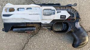 Custom Nerf Double Strike Sci-Fi Blaster Pistol