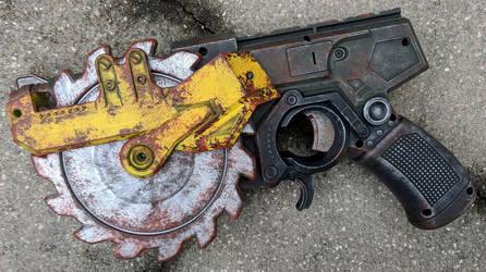 Fallout / Borderlands style Nerf CrossCut Gun by firebladecomics