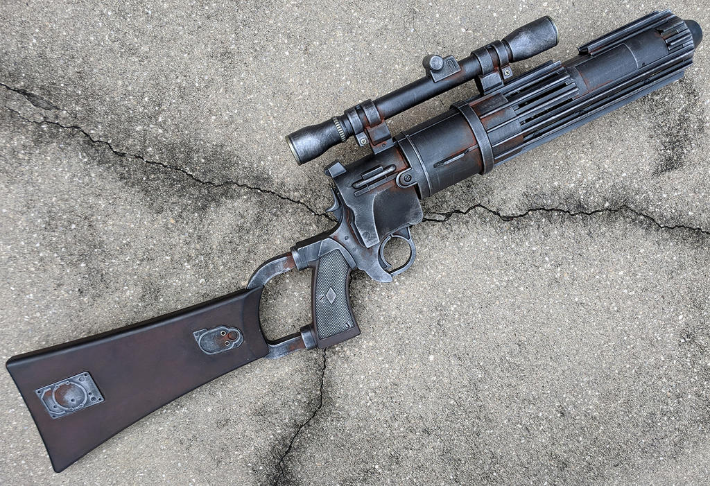 Boba Fett Blaster Rifle Star Wars Cosplay Prop